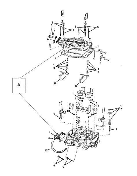 MerCruiser 5.7L MIE GM 350 V-8 1994-1995 Carburetor (Weber