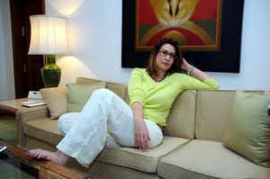 Wasim Akram's wife