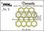 Decorette stans no. 3 / Decorette die no. 3