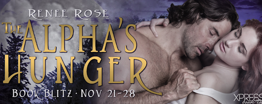 Book Blitz ~ The Alpha's Hunger by Renee Rose #Giveaway