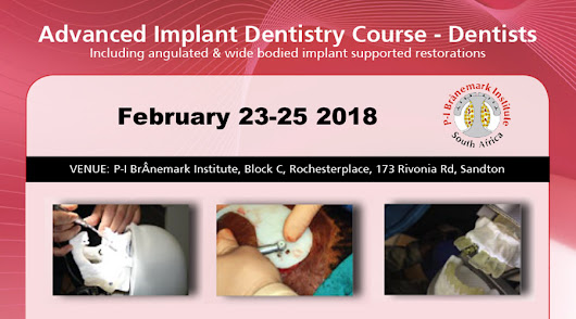 February 23-25 2018 – Advanced Implant Dentistry Course – Dentists | Southern Implants