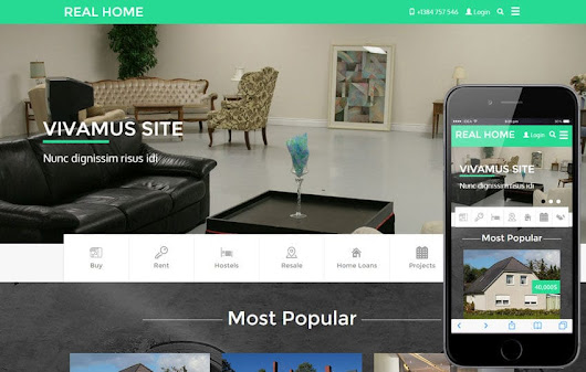 Real Home a Real Estate Category Flat Bootstrap Responsive Web Template by w3layouts