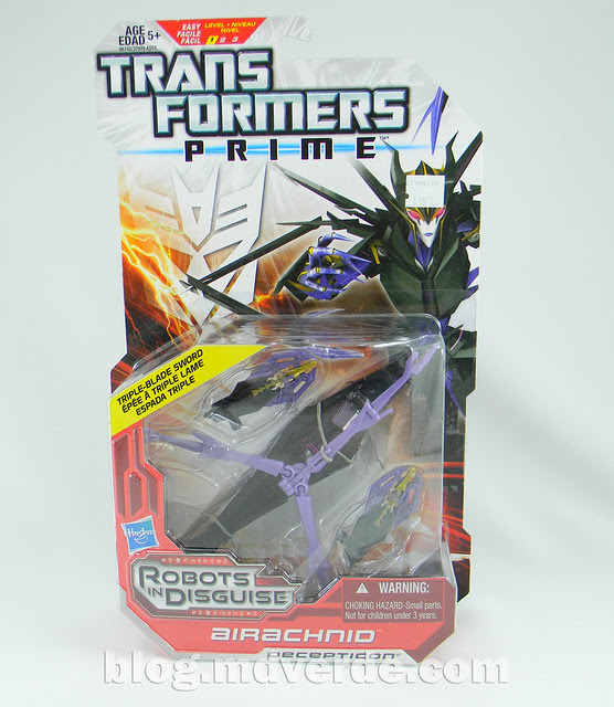 Transformers Airachnid - Prime RID - caja
