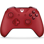 Microsoft Wireless Controller for Xbox One and PC - Red