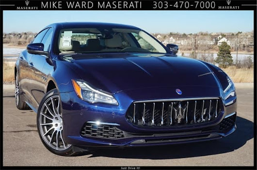 2018 Maserati Quattroporte luxury sedan for sale near Denver