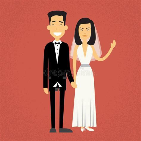Wedding Couple Holding Hands Stock Illustrations ? 1,453