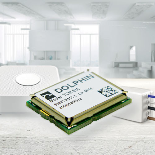 New EnOcean TCM 515 Transceiver Module for Batteryless Internet of Things