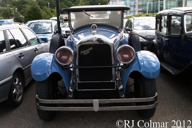 Hupmobile Eight Tourer, Brooklands Double 12