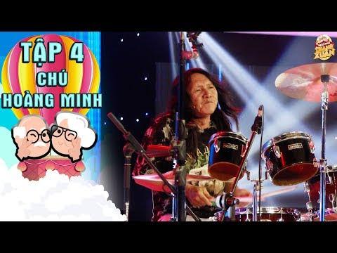 Mãi mãi thanh xuân2|Tập 4:Ngô Kiến Huy, Duy Khánh mê tít với màn chơi trống cực sung của chú 63 tuổi