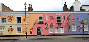 English: Chelsea Arts Club building