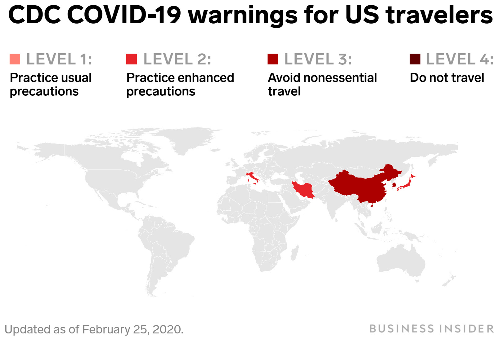 CDC Has Travel Advice For Places Hit by COVID-19. Here's ...
