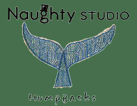 Naughty Studio Humpbacks グッズデザイン似顔絵イラストマンガ
