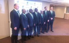 FILE: A delegation led by deputy president Cyril Ramaphosa went to London to convince international rugby administrators that South Africa should host 2023 Rugby World Cup. Picture: @SPORTandREC_RSA/Twitter