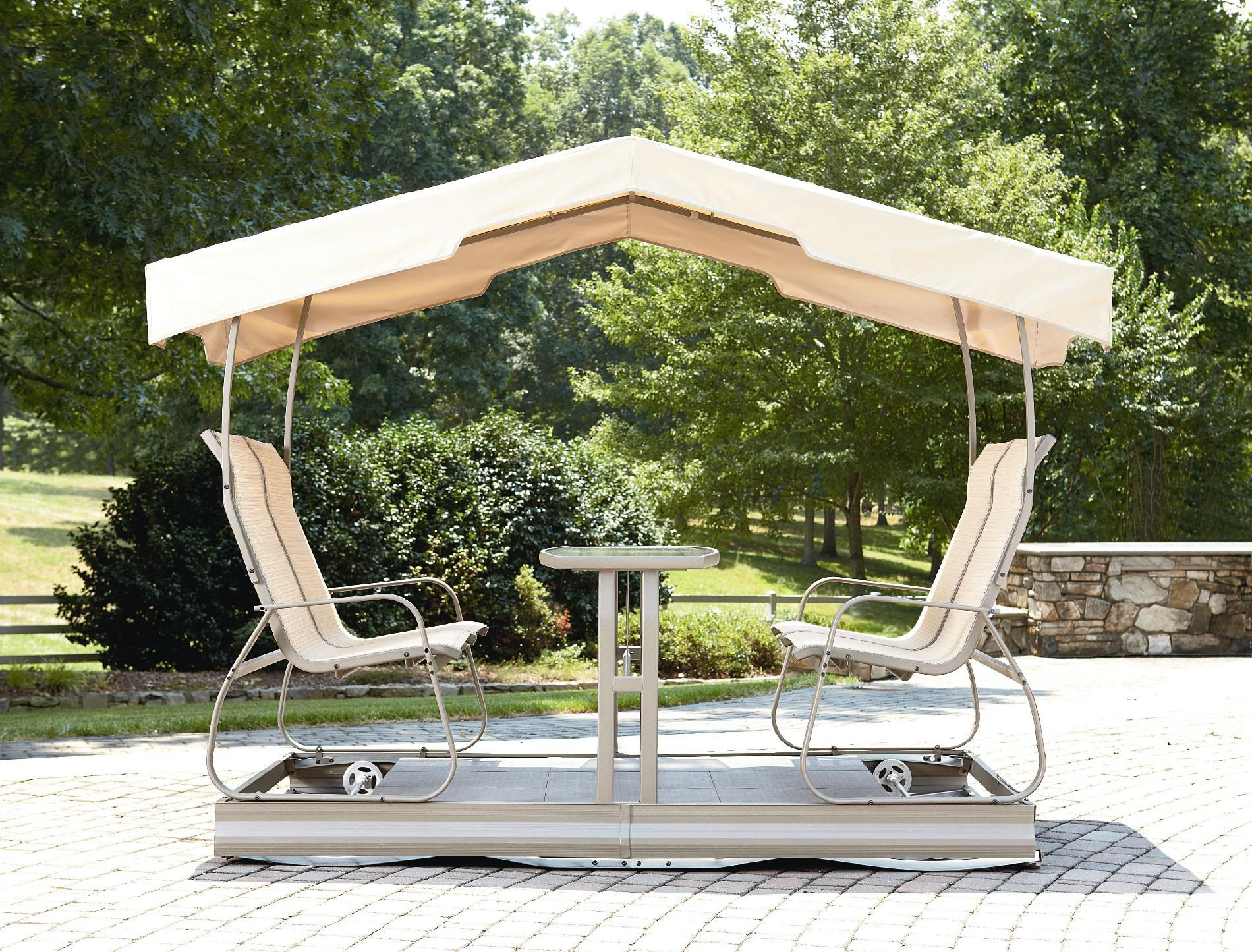 Garden Oasis 2-Seat Promo Swing - Outdoor Living - Patio Furniture ...