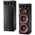 Cerwin-Vega XLS-215 3-way Floor-Standing Speaker - Black Ash