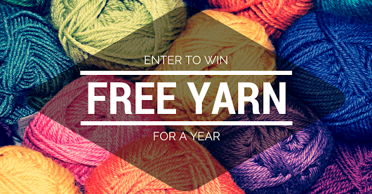 Win Free Yarn For A Year!