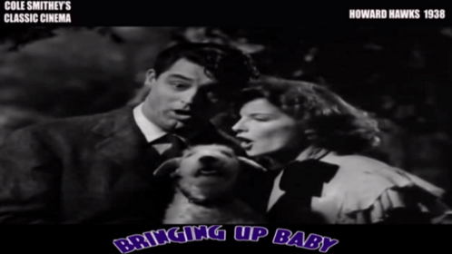 "Cole Smithey's Classic Cinema: ""Bringing Up Baby"" [video essay]"