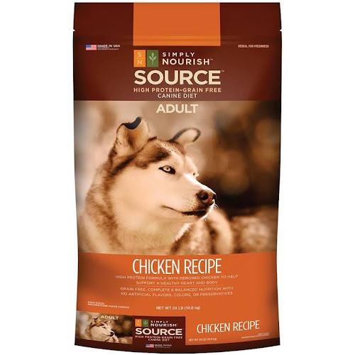 Google express simply nourish source adult dog food natural simply nourish source adult dog food natural grain free chicken recipe size 24 lb forumfinder Gallery