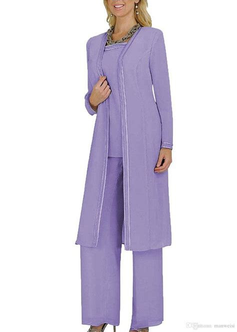 Cheap Plus Size Mother Of The Bride Pants Suit For