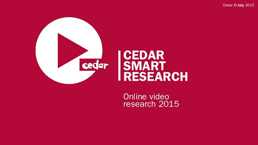 Cedar Smart Research: Online Video