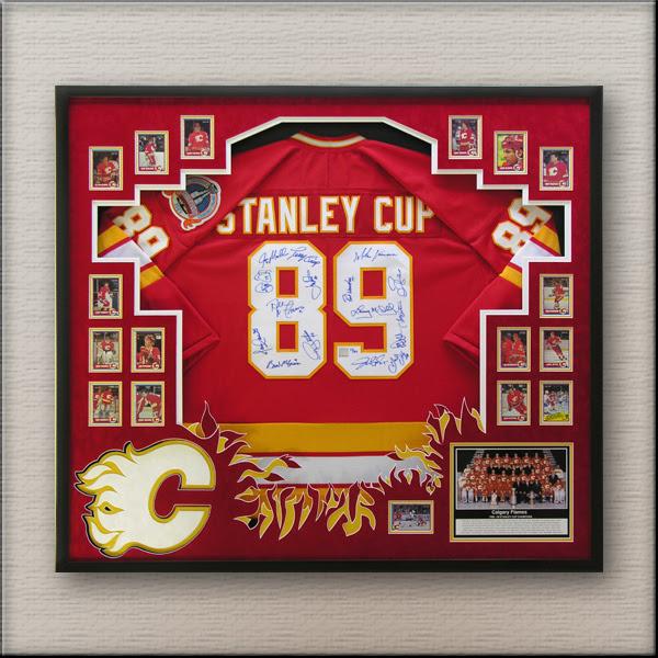 Custom Sports Jersey Framing The Framing Nook Hockey Jersey