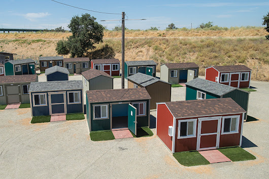 Big Idea for a Small Space: Tiny Houses for the Homeless