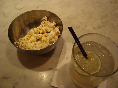 Popcorn + Ginger Grant