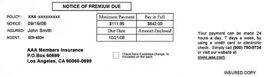 Auto Bill Payer : Safe auto insurance bill pay