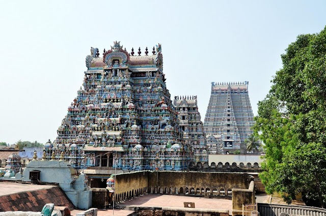 Jambukeswarar Temple | History, Architecture, Facts of Thiruvanaikaval temple