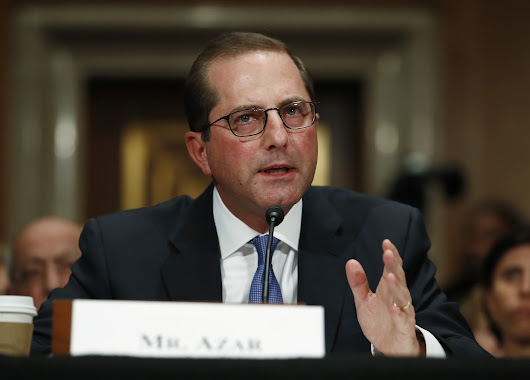 Alex Azar, Trump health secretary, open to government gun violence study