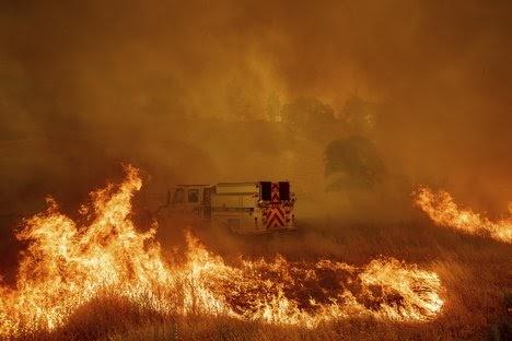Big winds fuel Northern California fires; evacuations ordered  #California #wildfire #wildfiresmoke ...