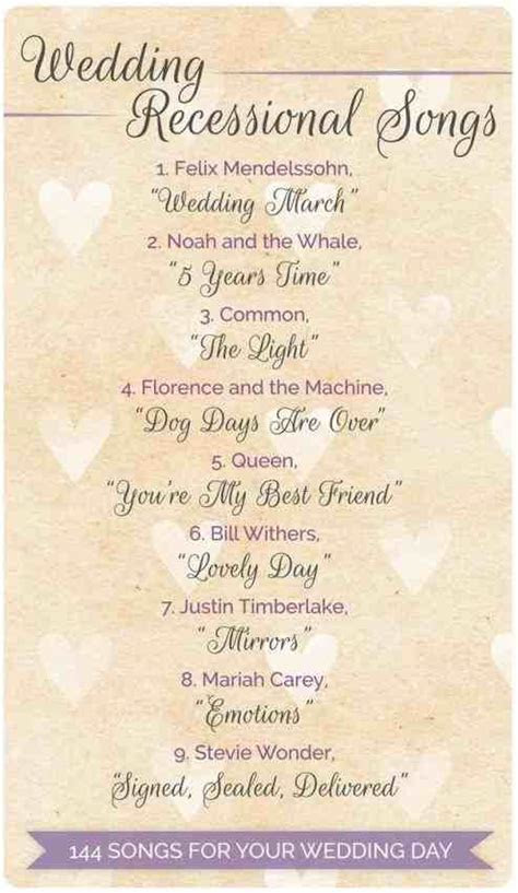 List Of Wedding Ceremony Songs   Weddings234