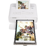 Canon - SELPHY CP1300 Wireless Compact Photo Printer - White