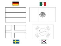 Dibujos Para Colorear Copa Mundial De Fútbol 2018 Morning Kids
