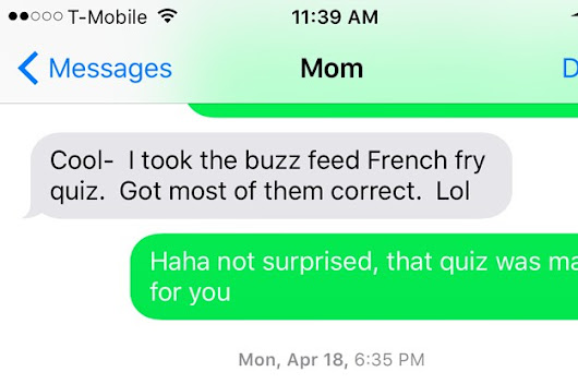 What's The Most Hilarious Text You've Received From Your Mum?