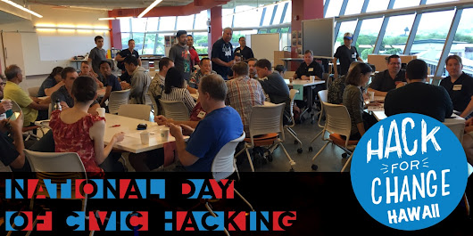 Hawaii Joins National Civic Hacking Day