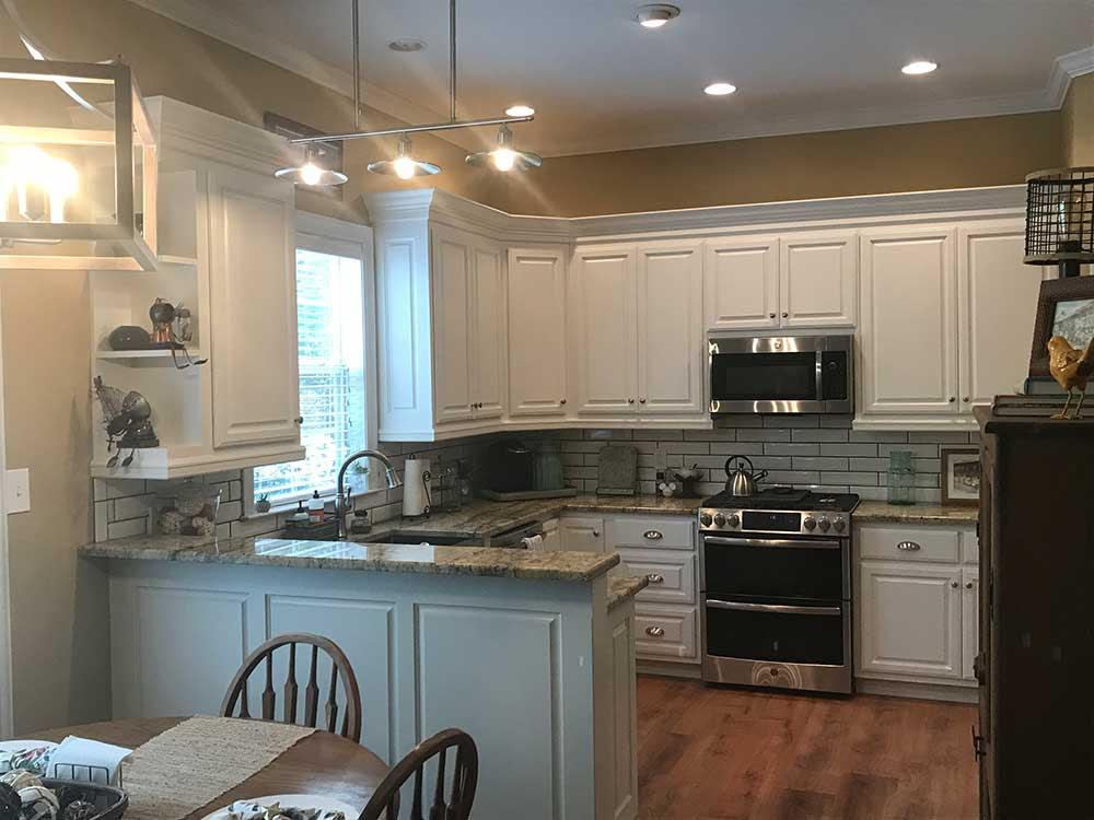 Biloxi, MS Custom Kitchen Remodel   N. Huckins Construction