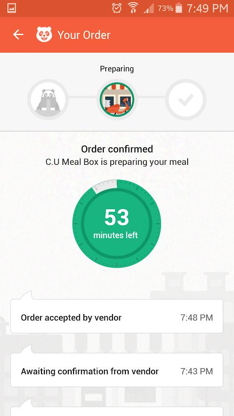 App Review: FoodPanda