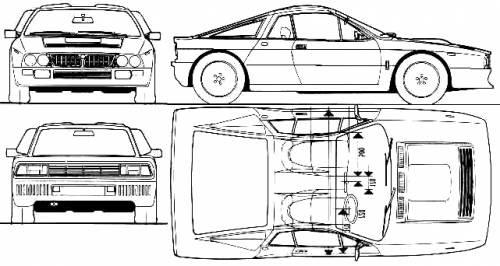Car Going Under 07: Lancia 037 Replica