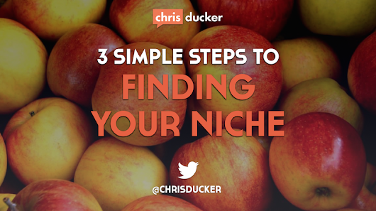 Finding Your Niche in 20mins or Less, with 3 Simple Steps!