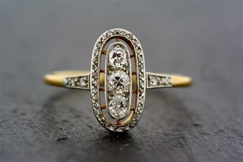 Vintage Art Deco Engagement Ring   Hairy Pussy
