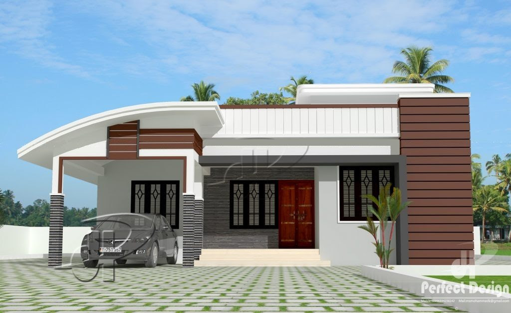 1000  Square  Feet  3 BHK Modern  Home  Design and Plan  Home
