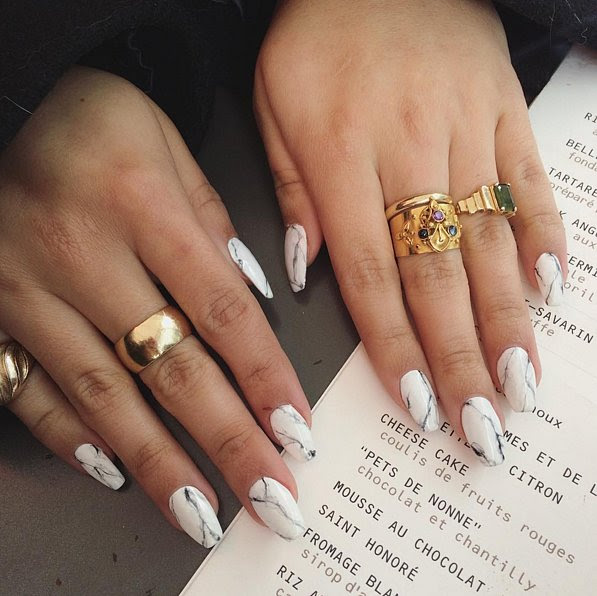 Marble Manicures Are the Classiest Way to Wear Nail Art