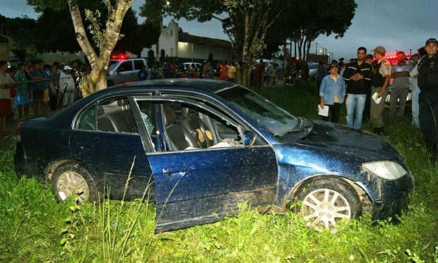 Filho de uma das vítimas ficou ferido e foi levado ao hospital / Foto: Divulgação/Adielson Galvão.