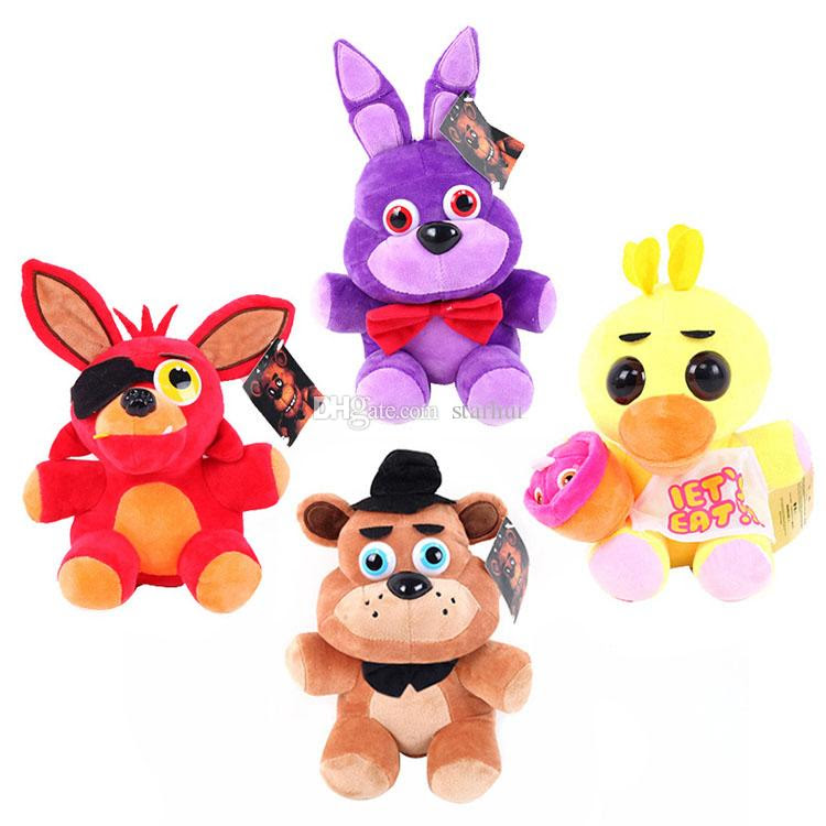 Plush Toys Five Nights at Freddy s Plush Bonnie Foxy Freddy Chica