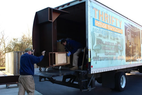 Moving and Relocation Services | Thrifty Office Furniture
