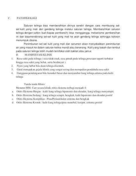Askep pada otitis eksterna atau furunkel AKPER PEMKAB MUNA