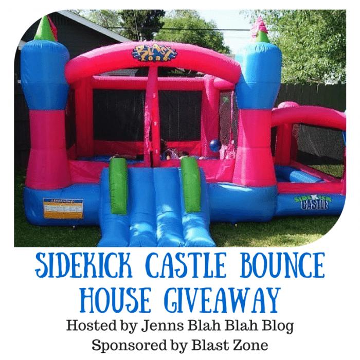 Sidekick Castle Bounce House Giveaway