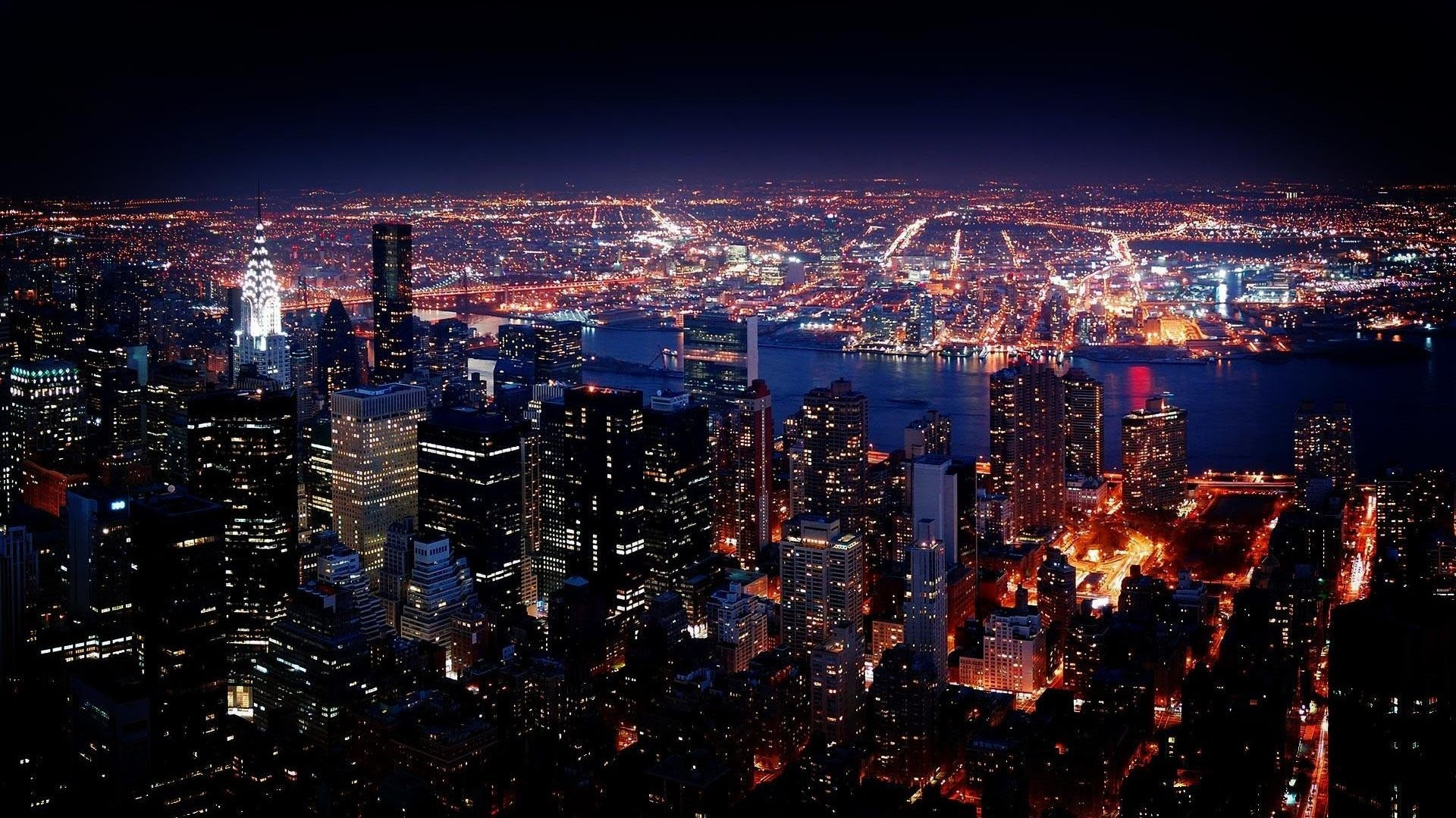 New York At Night Wallpaper 67 Images