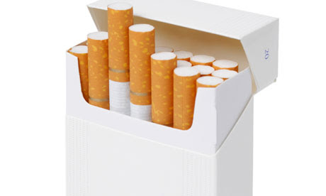 Blank Idea For Cigarettes. Will It Discourage The Underage?